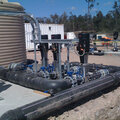 Arrow Energy water treatment plant pump station 1