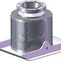 Poly Foot Valve w Skid base