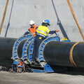 1000mm HDPE Recycled water pipeline line Gibson Island